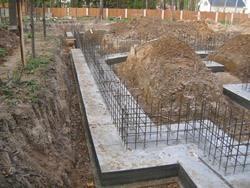 Строительство фундамента под ключ. Хабаровские строители.