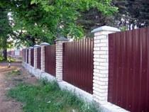 Строительство заборов, ограждений в Хабаровске и пригороде, строительство заборов, ограждений под ключ г.Хабаровск